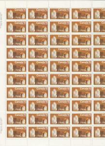 Canada-Scott-609-MNH-Plate-Sheet-Christmas-1972