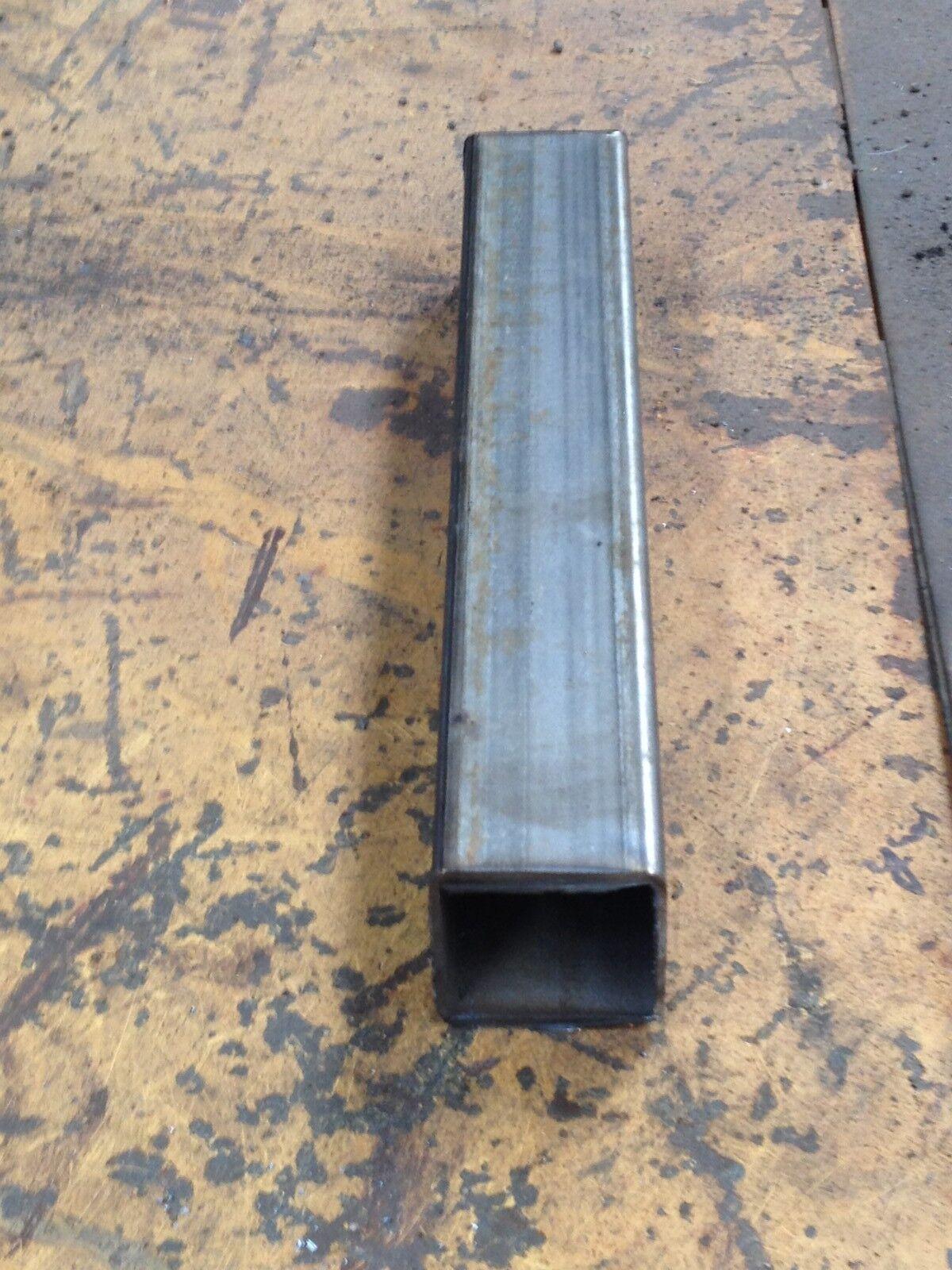 """0.08/"""" Steel Square Tube 1/"""" x 1/"""" x 24/"""" Long x 14ga Wall"""