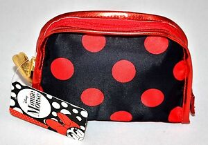 New-London-Soho-New-York-Disney-Minnie-Mouse-Polka-Dots-Cosmetic-Clutch-Bag