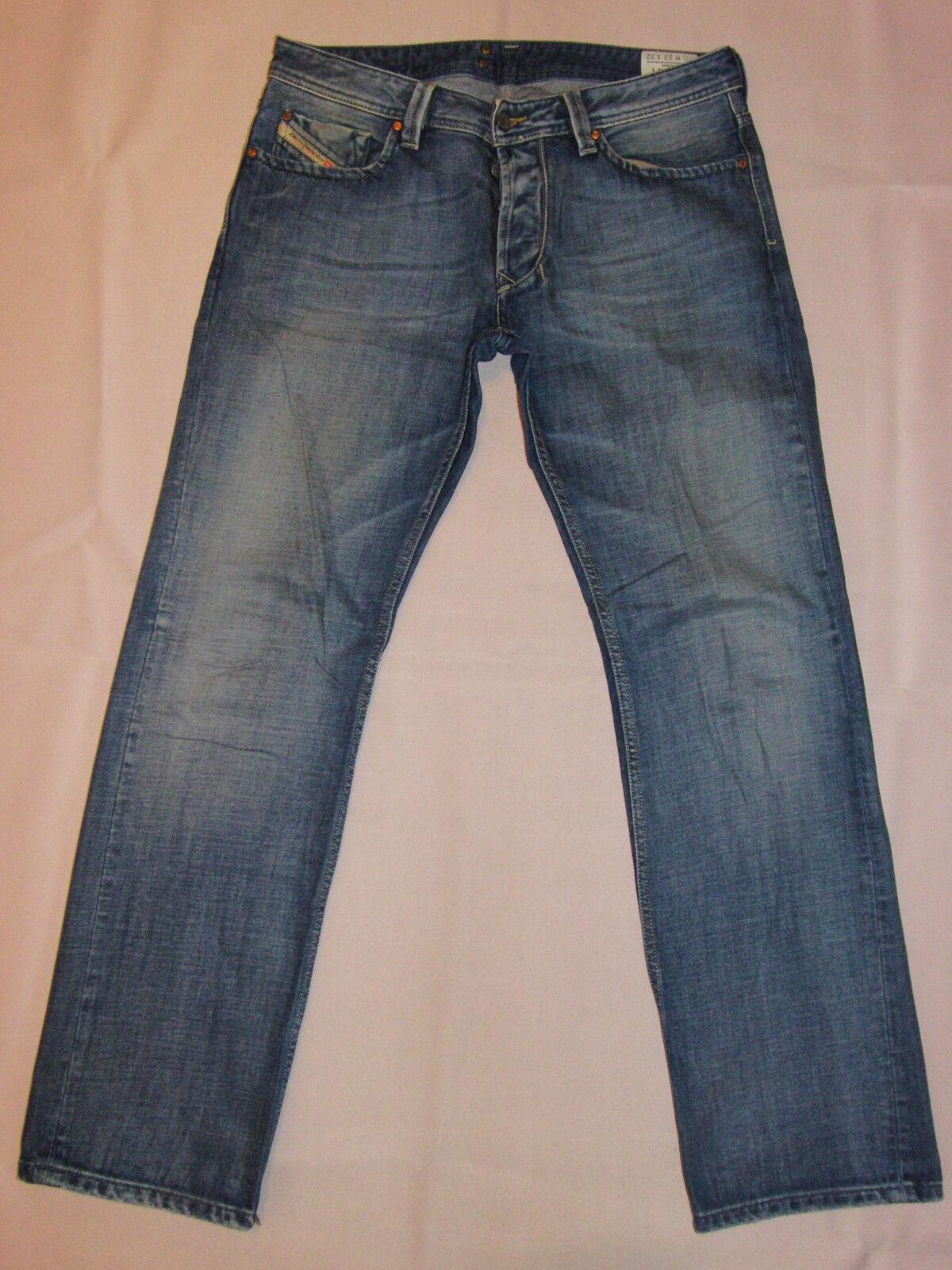 DIESEL Denim Division Jeans Mod. Larkee 33 32 blue demim TOP