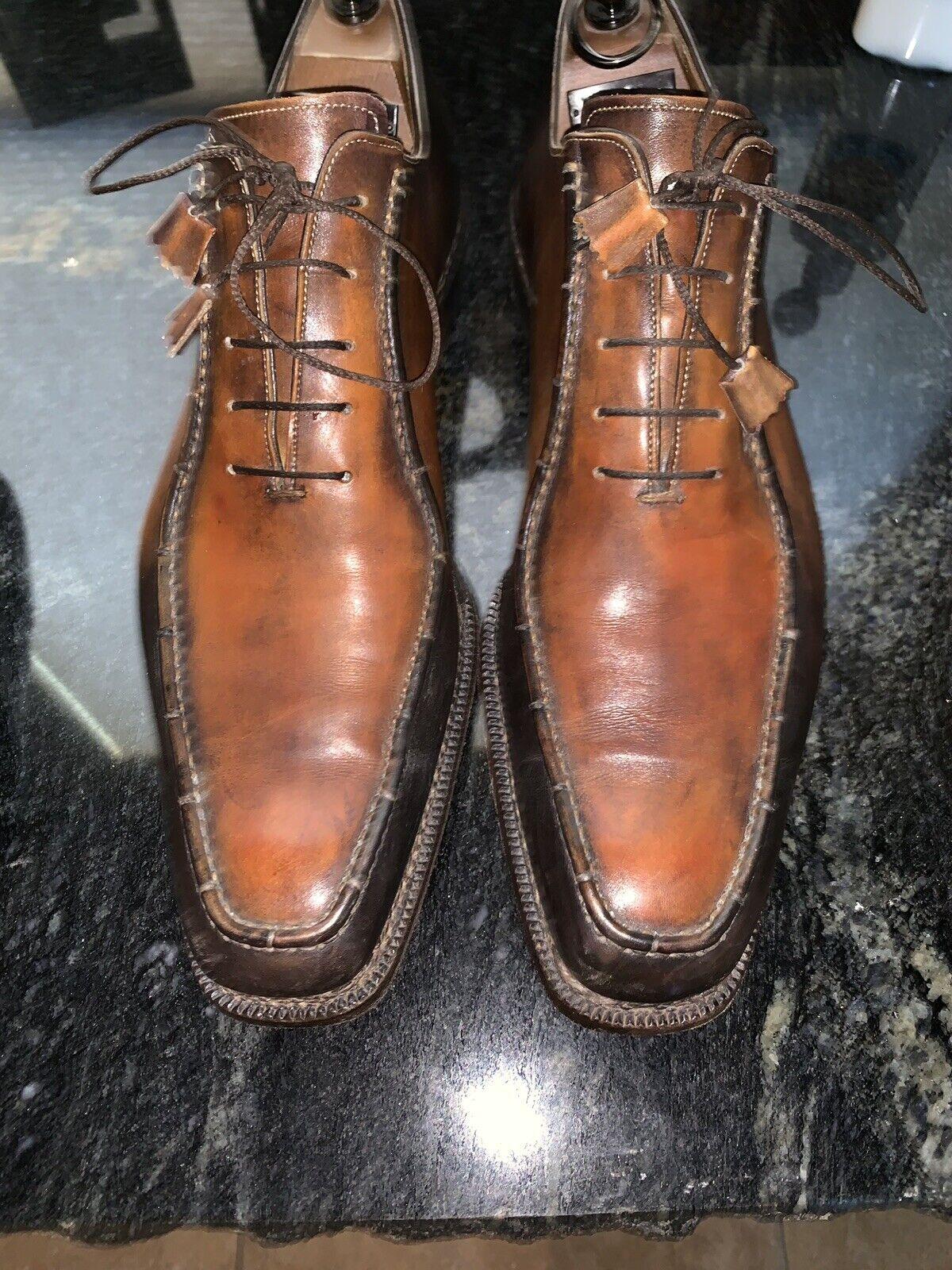 Calzoleria Harris Barney's uomo dress scarpe Dimensione 11 12US Dress Formal