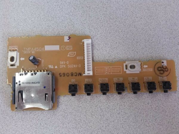 Panasonic Tnpa4504s Gs Board