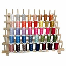 MACHINE EMBROIDERY THREAD - 40 BIG CONES POLYESTER SPOOLS NEW - SET D -THREADART