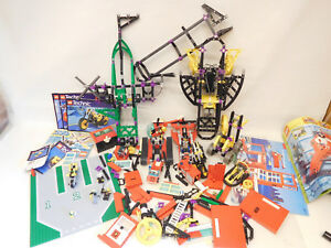 X-61005 Lego avec des signes d'utilisation, l'exhaustivité ne peut être garantie,
