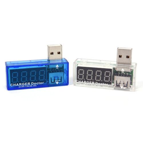 USB-Ladegerät Doctor Mobile Power Detector Batterietester Spannung Strom Me WD$N
