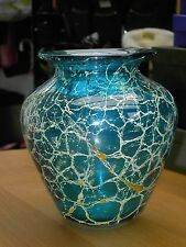 """Mdina Large Sea & Sand Vase 6 7/8"""" Tall In Very Good Condition Free UK Postage"""