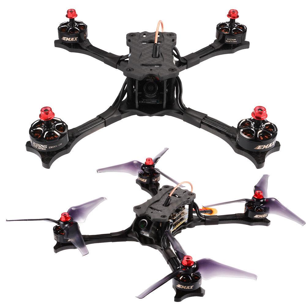 Carbon Fiber EMAX HAWK 5 FPV Racing Drone BNF 210mm HD Camera Quadcopter RC808