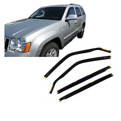Window Deflectors visors rain guards for JEEP GRAND ...