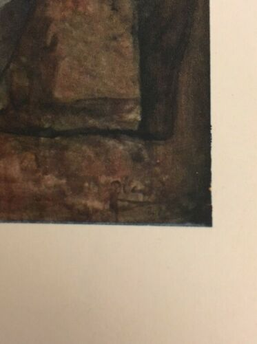 PABLO PICASSO Offset Lithograph 1946  Unsigned Girls At The Fountain Vintage