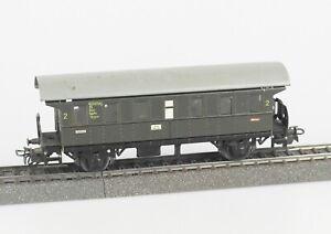 Marklin-4002-Piste-h0-voitures-Bi-2-Classe-DB-epoque-III-en-tole