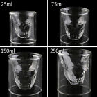 Cool Skull Head Shot Glass Creative Designer Party Wine Cup Drinkware DQbitb99