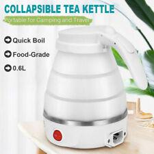 Dual Voltage collapsible White Gourmia GK320W Travel Foldable Electric Kettle