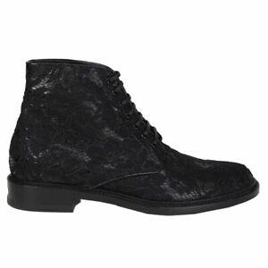a5edef1717 Details about 56873 auth SAINT LAURENT black LACE LOLITA 20 Ankle Boots  Shoes 39.5