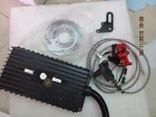 """48V/60V/72V/84V 3000W 10"""" Extreme Electric Scooter brushless Motor kit  100kph"""