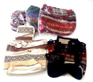 20-Stück Festival Rucksack Tasche Kinderrucksack Stoffrucksack Mexiko Posten