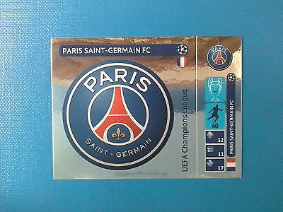 PANINI CHAMPIONS LEAGUE 2014 2015 - N. 26 SCUDETTO PARIS SAINT GERMAIN