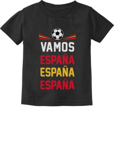 Come On Spain Soccer Fans Toddler Kids T-Shirt Team Vamos Espana