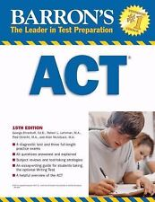 Barron's ACT (Barron's How to Prepare for the Act American College Testing Progr