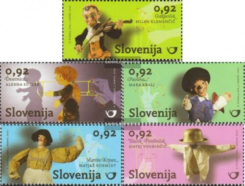 slovenia 854858 mint never hinged mnh 2010 slovenian puppet theater