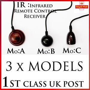 "IR Infrared Receiver "" Magic Eye"" TV Remote Control Signal Sensor DVB-T Repeater"