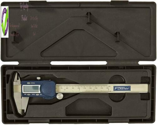 """Stainless Steel Fowler 54-101-150-2 Xtra-Value Cal Electronic Caliper 0 To 6/""""//"""