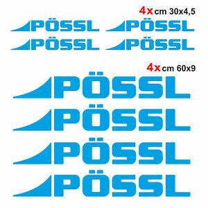 Kit-completo-8-adesivi-per-camper-Possl-AZZURRO-loghi-possl-caravan-roulotte