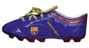 FC Barcelona,Fanshop Mäppchen Federtasche in Form eines Fußballschuh Fanshop neu