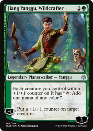 War of the Spark 4 Jiang Yanggu Wildcrafter
