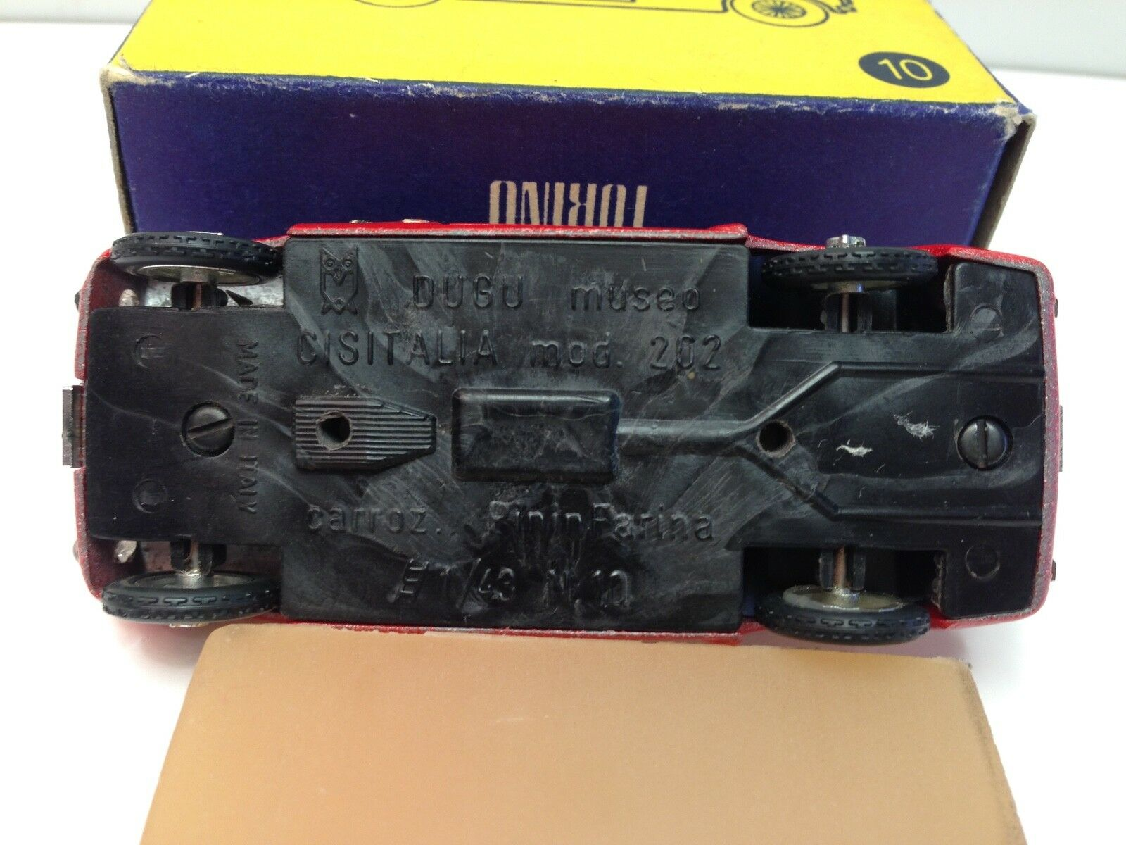 1 43 DUGU M10 CISITALIA - - - 202 PININFARINA fc7170