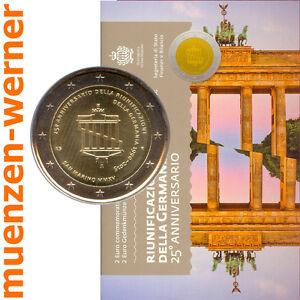 Sondermuenzen-San-Marino-2-Euro-Muenze-2015-Wiedervereinigung-Sondermuenze