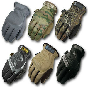 Mechanix Wear Fastfit Touch Gloves Army Military Shooting
