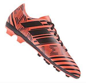 33f3ca1724c Adidas Nemeziz 17.4 FxG J Soccer Cleats Pyro Size 3.5 Storm Orange ...