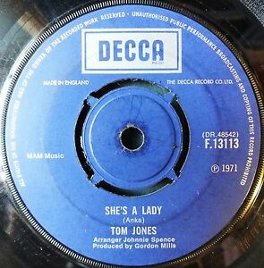TOM-JONES-SHE-039-S-A-LADY-MY-WAY-1971-CatNo-F13113-7-034-Single