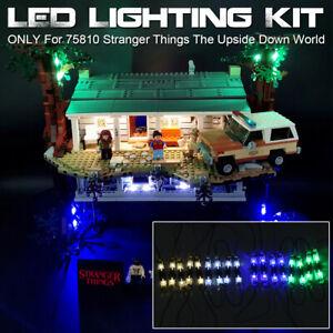 USB LED Light Lighting Kit For LEGO 75810 Stranger Things The Upside Down