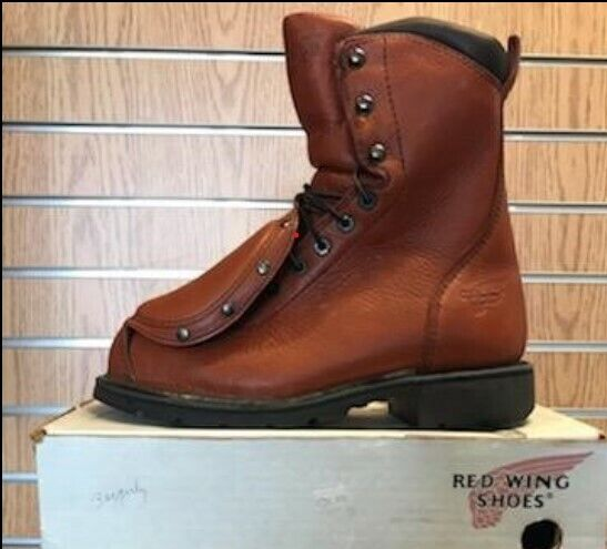 Red Wing Metatarsal Leather Steel Toe