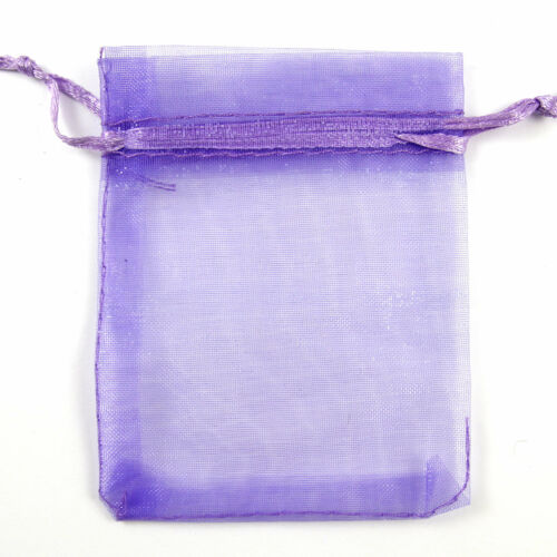 100 Pcs Organza Jewellery Packing Pouches Wedding Party Favour Candy Gift Bags
