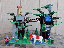 LEGO SYSTEM RARE VINTAGE ROBIN HOOD HIDEOUT FOREST KNIGHT CUSTOM SET