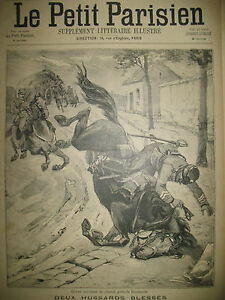 BORDEAUX-ACCIDENT-DE-CHEVAL-AU-6e-HUSSARD-LE-PETIT-PARISIEN-1895