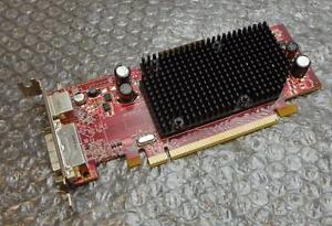 128MB Dell J9133 Ati Radeon X600 Pci-e DVI / S-VID Carte Graphique Bas Profil