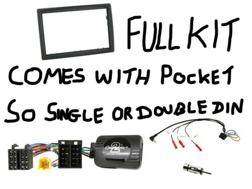 CTKRT01 Renault Megane 06 to 08 Complete Double or Single Din Stereo Fitting Kit