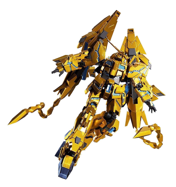 Robot Spirits Unicorn Gundam 03 lado Mississippi Phenex destruir modo figura de acción con T
