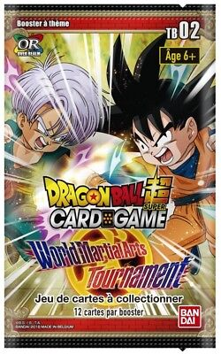 Dragon Ball Super Card Game Power Boosters World Martial Arts Tournament Scelles
