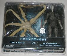 NECA Prometheus Trilobite vs. Engineer Battle Damaged Toys R Us Exclusive 2-Pack