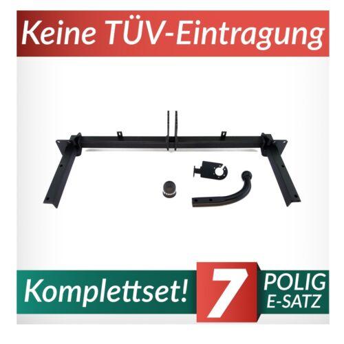 Für Opel Astra III H Caravan 04-14 Kpl Anhängerkupplung starr+E-Satz 7p