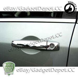 For 2008-2014 DODGE Avenger 4 Chrome Door Handle Cover W//O PSG keyhole