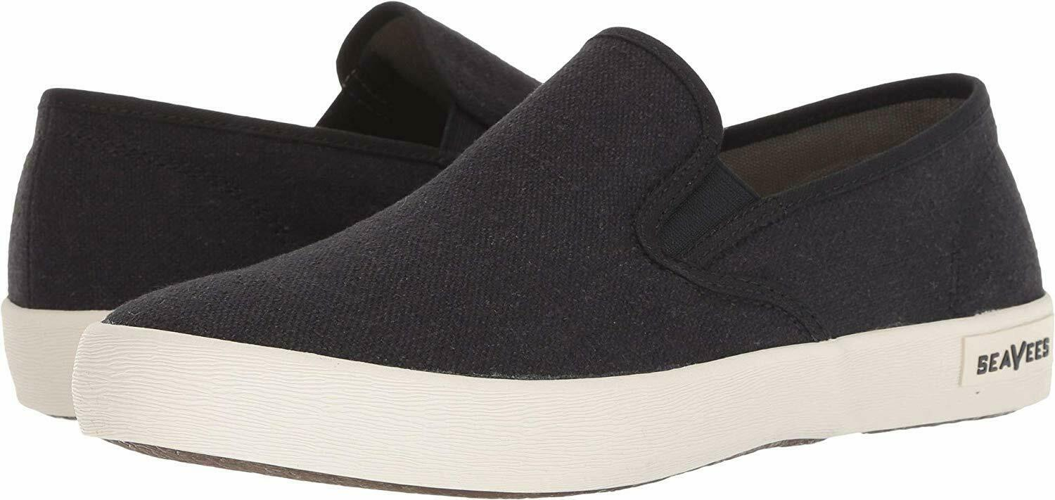 Seavees Men'S 02 64 Baja Slip-On Standard Black 7 D Us