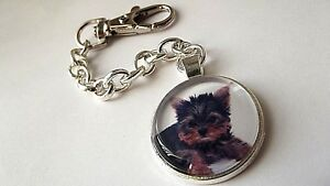 YORKSHIRE-TERRIER-DOG-PUPPY-PHOTO-KEY-RING-KEY-CHAIN-GIFT-BOX-BIRTHDAY-PARTY