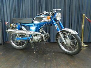 Honda-SS-50-1979-Oldtimer-Motorrad-Moped-Klassiker