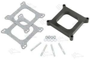 1-034-Phenolic-Thermal-Insulating-Carb-Spacer-Kit-Open-Centre-Holley-Edelbrock