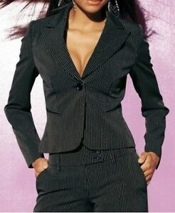 Blazer 36 Laura Nere Scott Strisce Giacca Tgl Business Nuovo 42 Donna wggtT